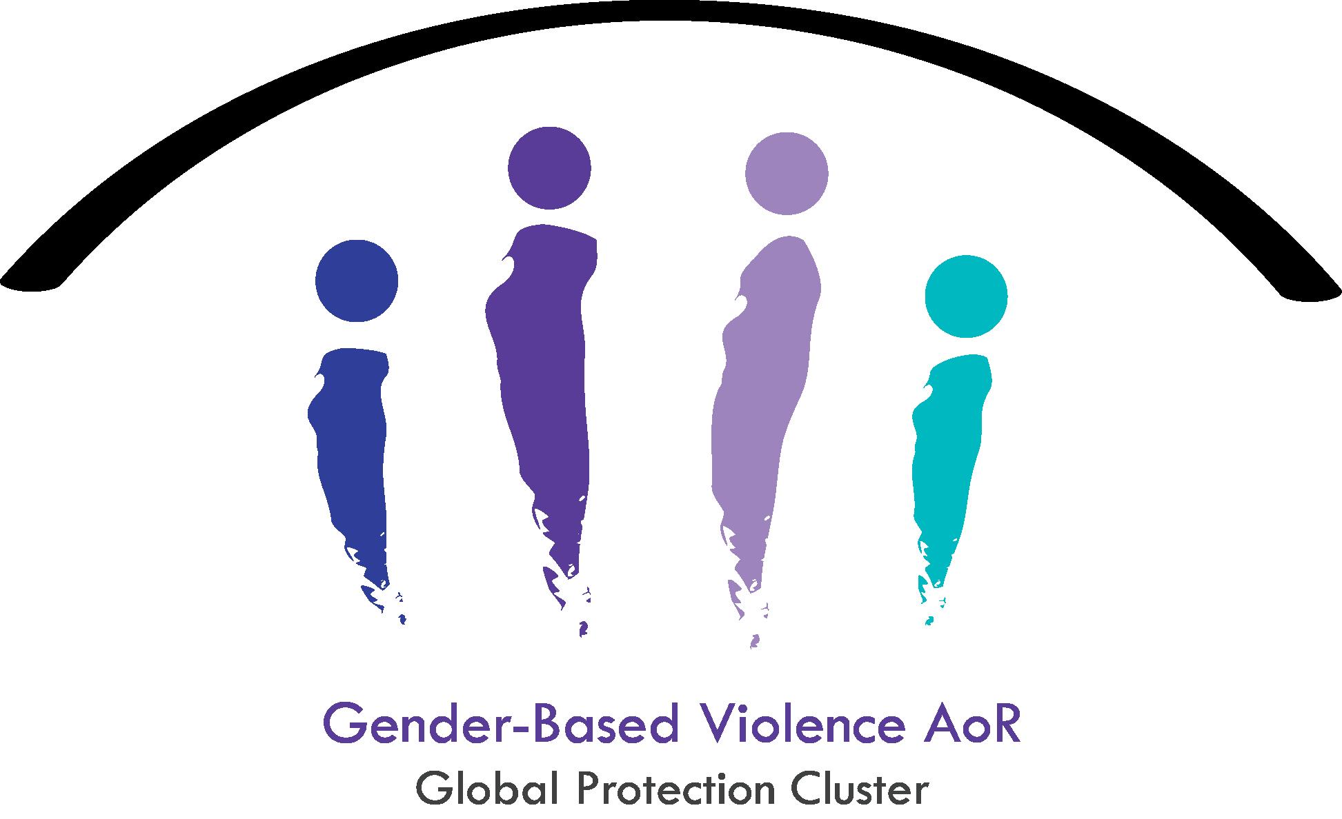 GBV-AoR logo, Gender-Based Violence Area of Responsibility