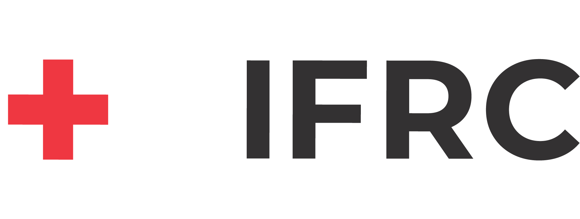 IFRC logo, International Federation of the Red Cross and Red Crescent Societies